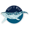 "3.5"" Keep It Wild Vinyl Sticker"