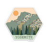 "4"" Yosemite Vinyl Sticker"