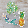 The Aloha / Sticker Set