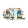 "3"" Electric Camper Vinyl Sticker"