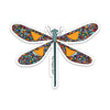 "4"" Dragon Fly Vinyl Sticker"