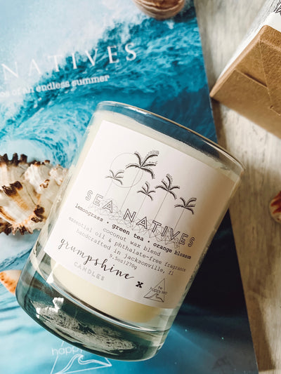 S E A  N A T I V E S - Grumpshine X The Happy Sea Candle Collab
