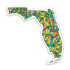 "3"" Florida Vinyl Sticker"