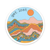 "3.5"" Get Lost Vinyl Sticker"