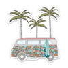 "3.5"" Isle Of Palms Vinyl Sticker"