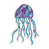 "3"" Jellyfish Vinyl Sticker"