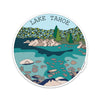 "4"" Lake Tahoe Vinyl Sticker"