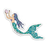 "4"" Mermaid Vinyl Sticker"