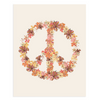 Peace Sign, 11x14 Art Print