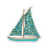 "3"" Sailboat Vinyl Sticker"