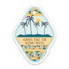 "3"" Take The Scenic Route Sticker"