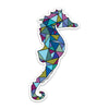 "4"" Sea Horse Vinyl Sticker"