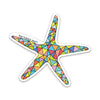 "3"" Starfish Vinyl Sticker"