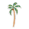 "4"" Tall Palm Tree Vinyl Sticker"