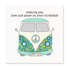 Set of 6- Wishing you peace and love on your birthday!