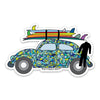 "3.5"" VW Bug Vinyl Sticker"