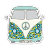 "3"" VW Van Vinyl Peace Sticker"