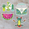 Wild One / Sticker Set