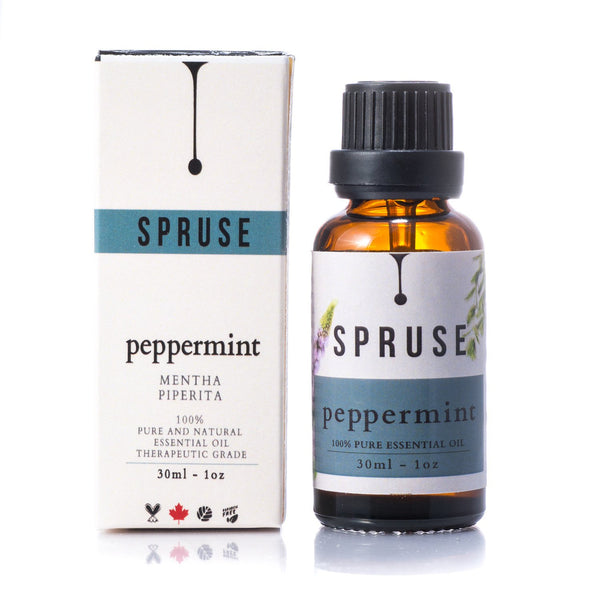 Peppermint Essential Oil - Spruse Essentials
