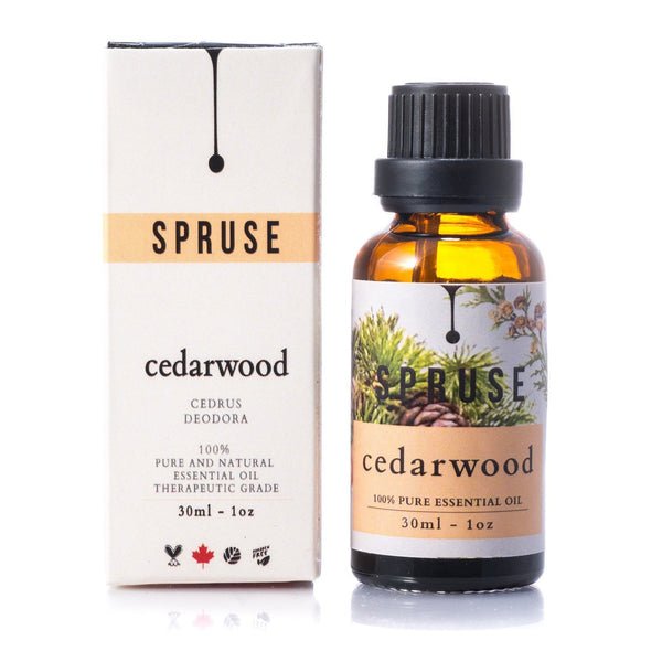 Cedarwood Essential Oil - Spruse Essentials