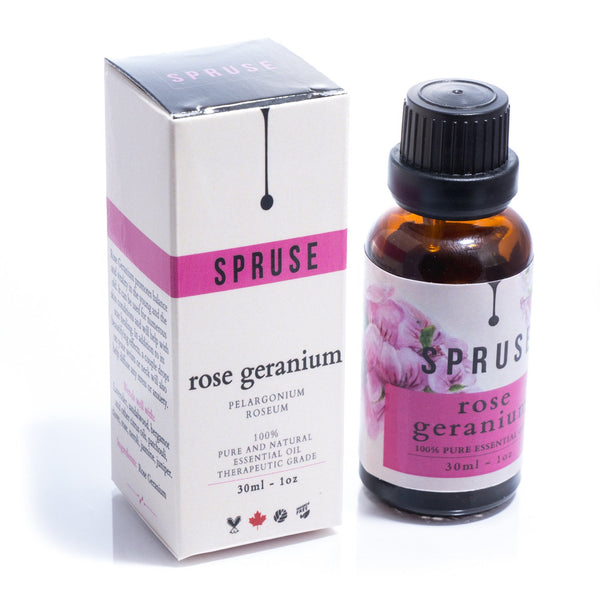 Rose Geranium Essential Oil - Spruse Essentials