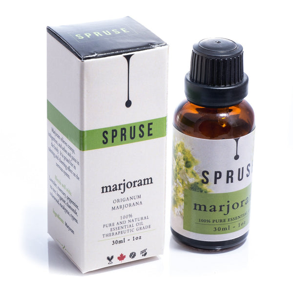 Marjoram Essential Oil - Spruse Essentials