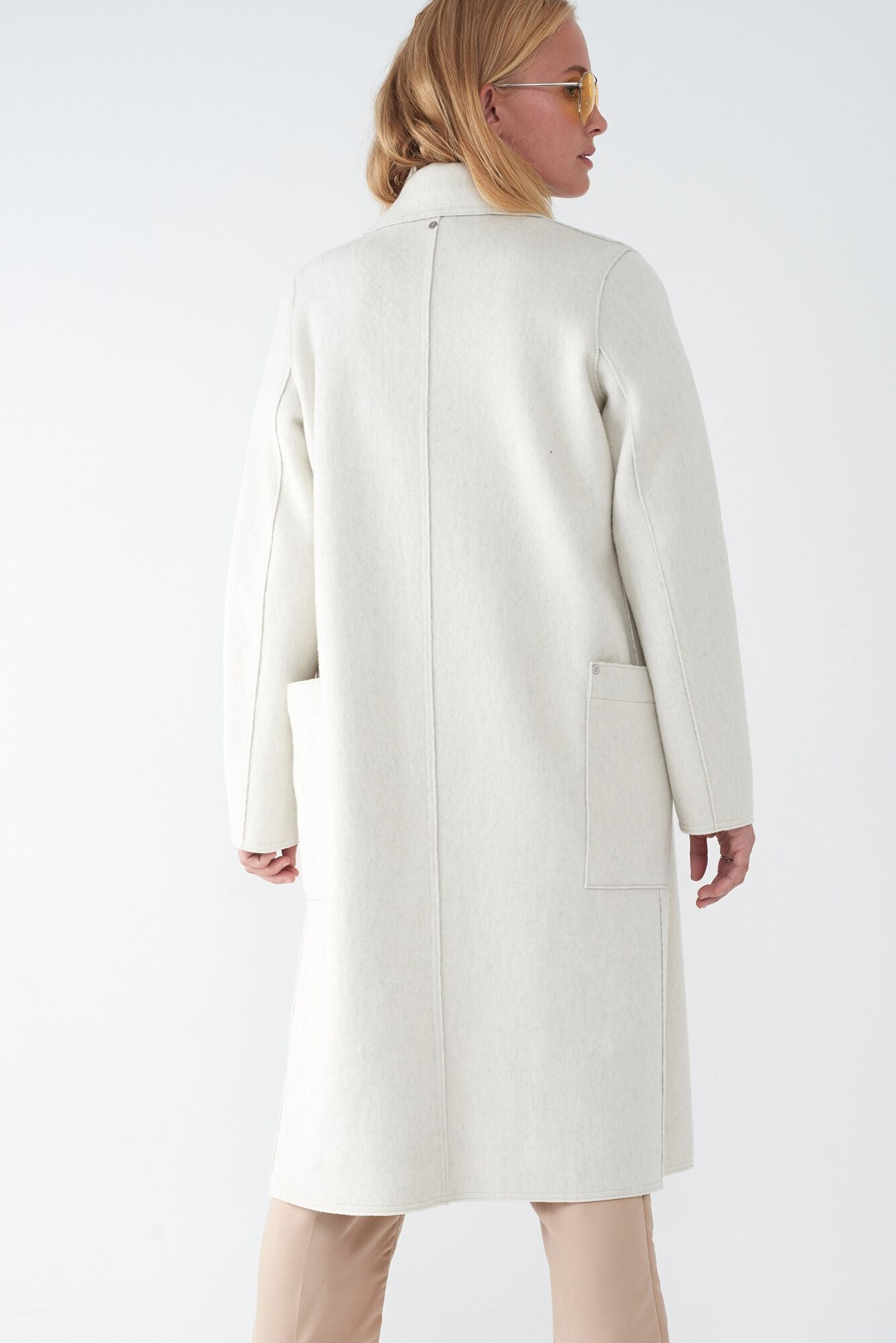 BELLA BONE - BRUSHED KNIT COAT
