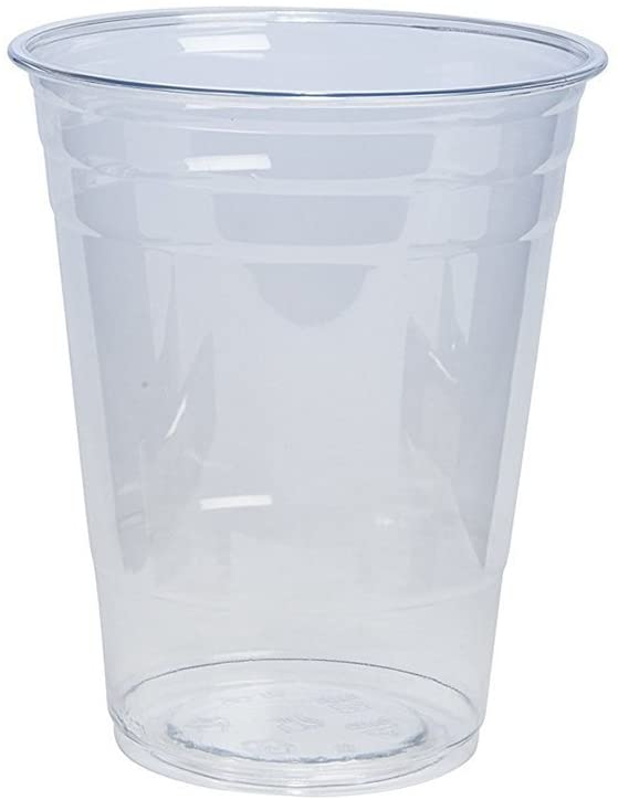 16 oz. Crystal Clear PET Plastic Cups