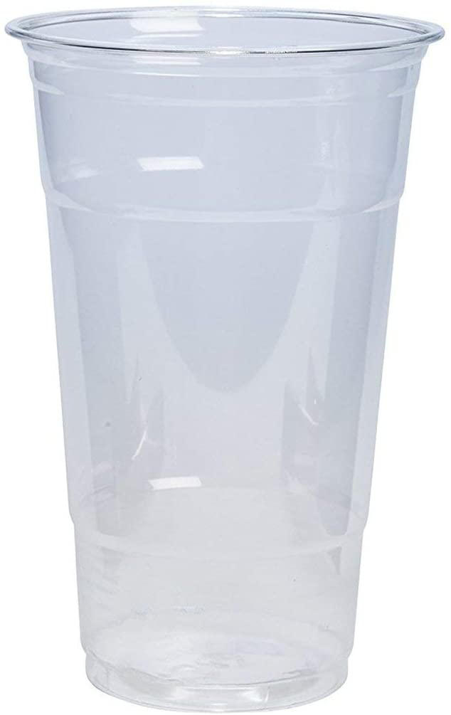 24 oz. Crystal Clear PET Plastic Cups