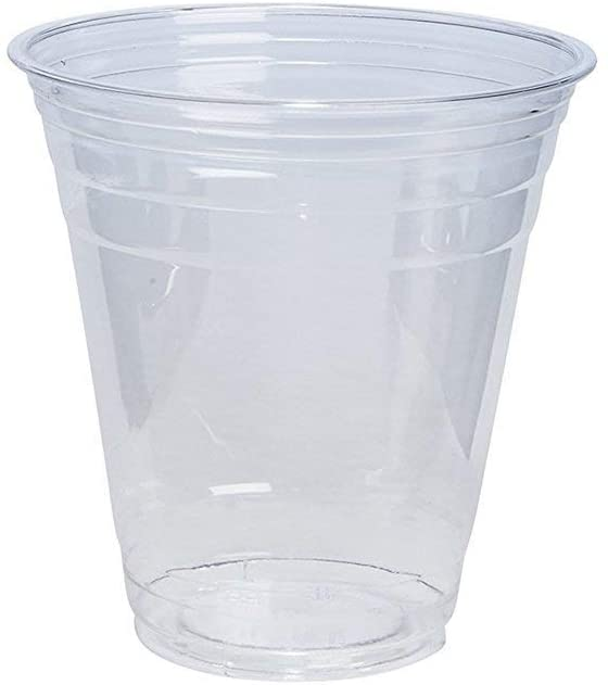 12 oz. Crystal Clear PET Plastic Cups