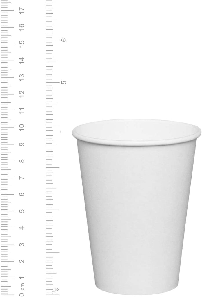 12 oz. White Paper Hot Cups