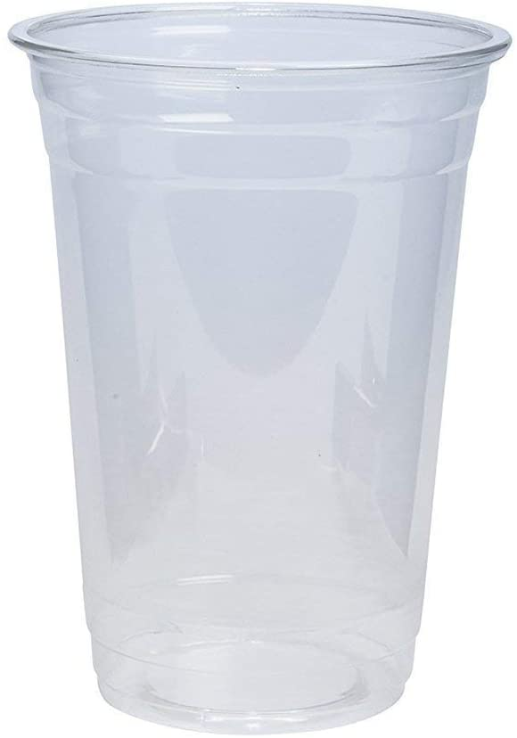 20 oz. Crystal Clear PET Plastic Cups
