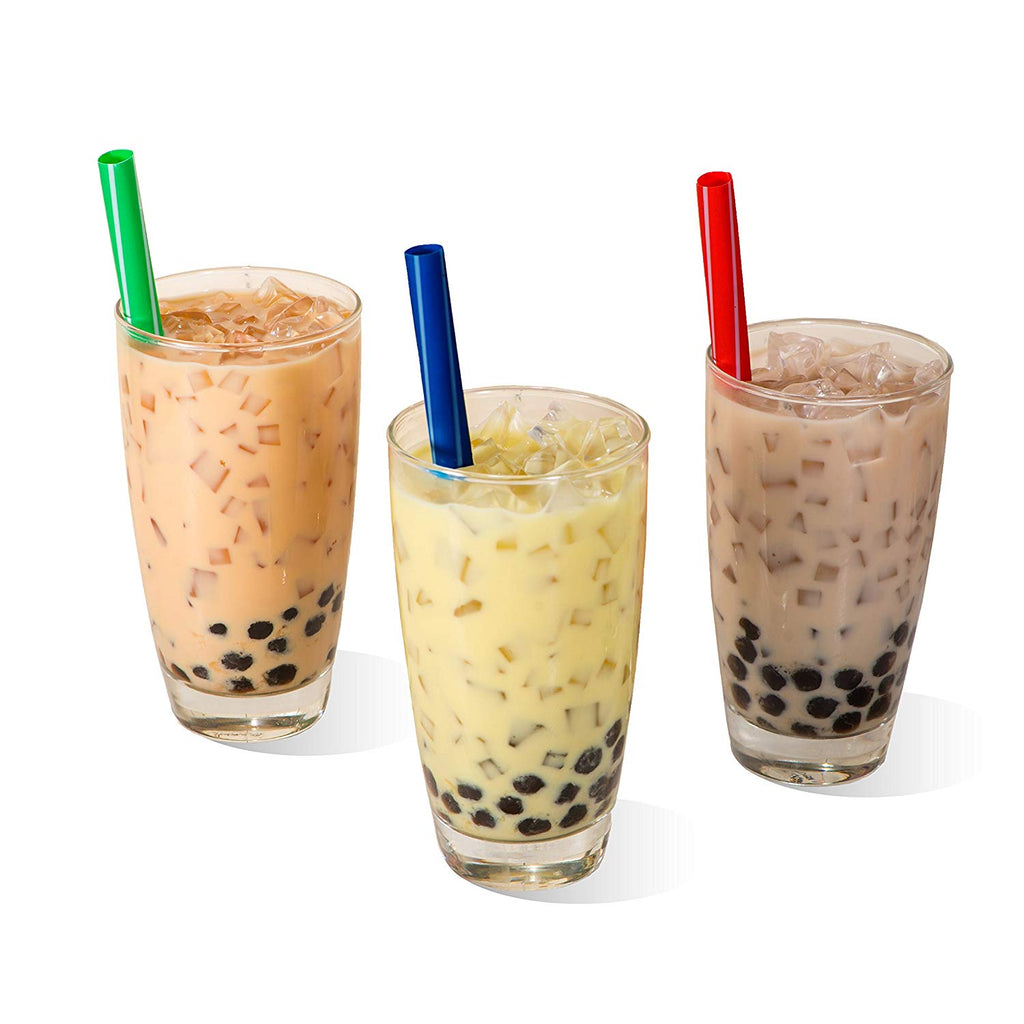 Individually Wrapped Extra-Wide Bubble Tea / Smoothie Straws