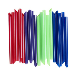 Individually Wrapped Extra-Wide Bubble Tea / Smoothie Straws [100 Pack]