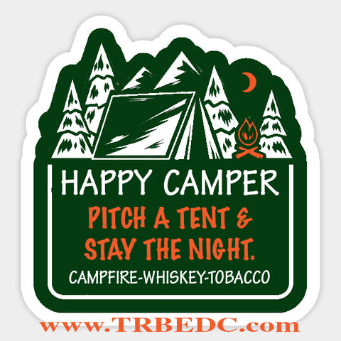 Happy Camper Campfire-Whiskey-Tobacco blend