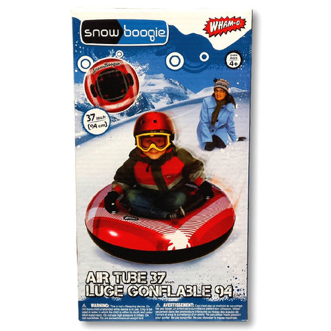 "Wham-O Snow Boogie 37"" Air Tube Inflatable Red Snow Tube"