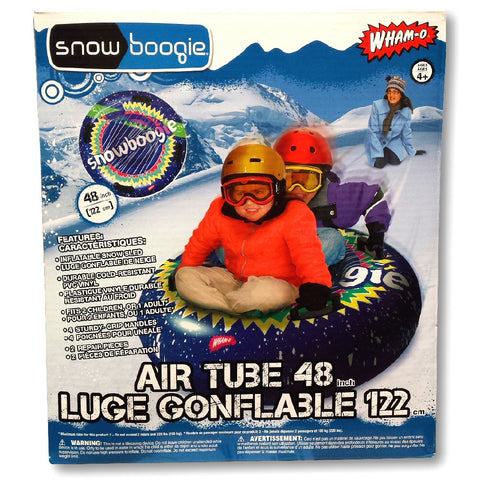 "Wham-O Snow Boogie 48"" Air Tube Inflatable Snow Tube Sled"