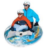 "Pipeline Sno 54"" Transparent Megablaster Polar Bear Snow Tube"