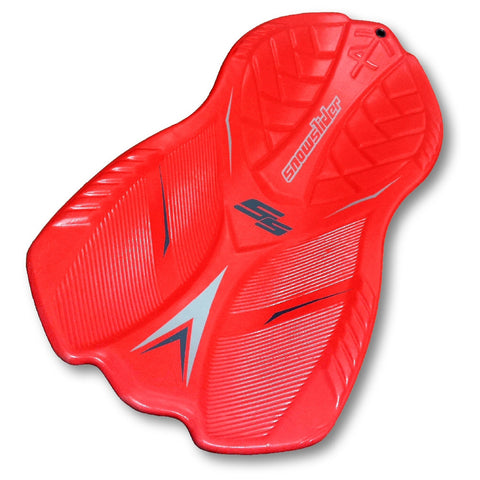 "Snowslider T4 50"" Slick Bottom 3D Red Foam Snow Sled"