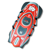 "Snow Daze Bobsled Racer Red 48"" 2 Person Slick Bottom Foam Sled - Winter Backyard - 1"