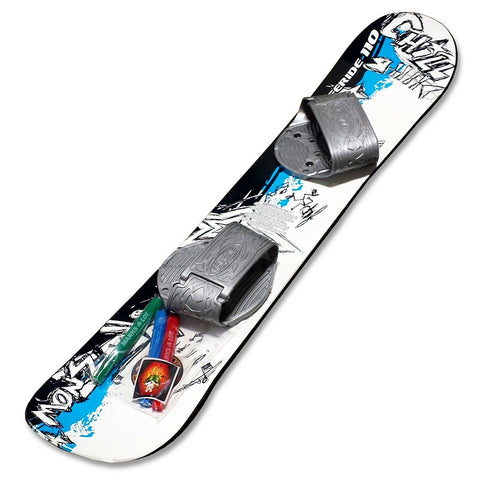 Emsco ESP Graffiti Freeride 110 cm Kids Beginner Snowboard - Winter Backyard - 1