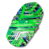 "Snow Daze Shred Pod LE 43"" Green Molded Foam Kneeboard Snow Sled - Winter Backyard - 2"