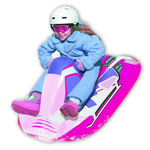 "Pipeline Sno 40"" Girls Pink Snow Mobile Snow Tube"