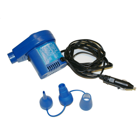 Solstice 12 Volt Electric Air Inflation Pump - Winter Backyard