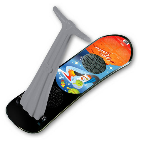 Space Scooter Snowboard with Handle