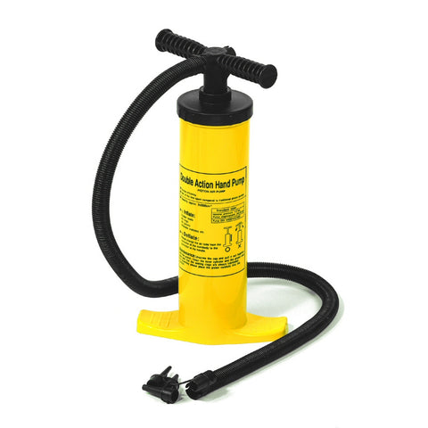 International Leisure Dual Action Hand Operated Air Pump - Winter Backyard