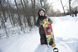 Techno Beginner's Snowboard with Rope Handle