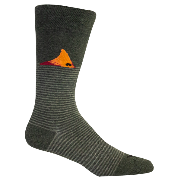 "Brown Dog Hosiery ""Fort Fisher"" Socks Grey"