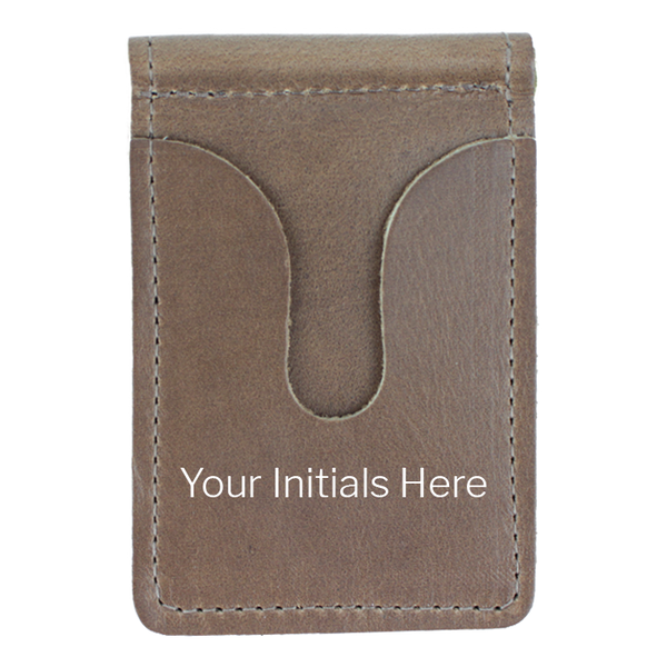 Custom Horween Front Pocket Wallet