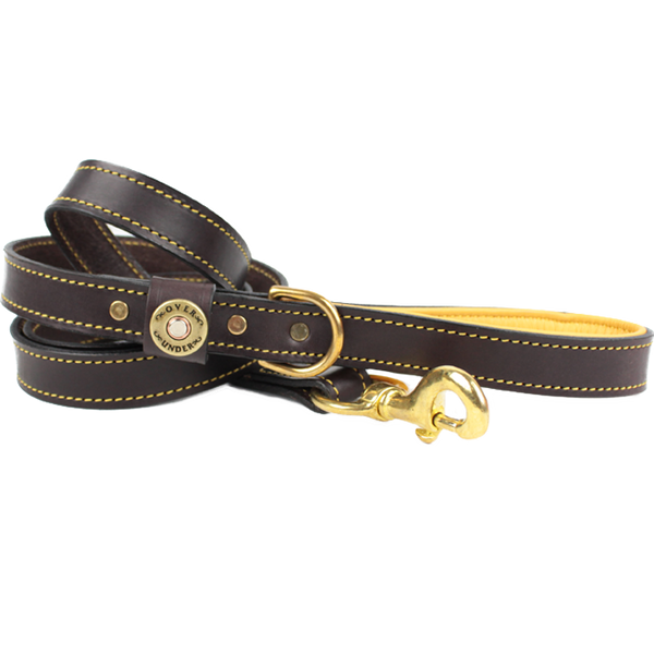 Deer Skin Lined Leash